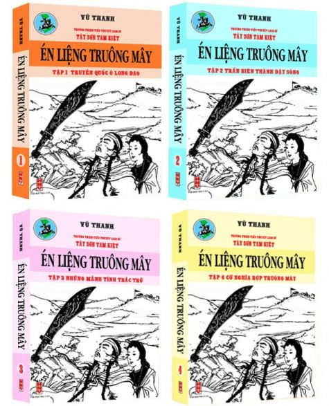 Én Liệng Truông Mây (Bộ 4 Cuốn)